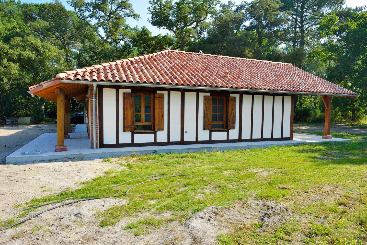 Populaire renovation-maison-landaise-traditionnelle-40-landes | Construction  PL97